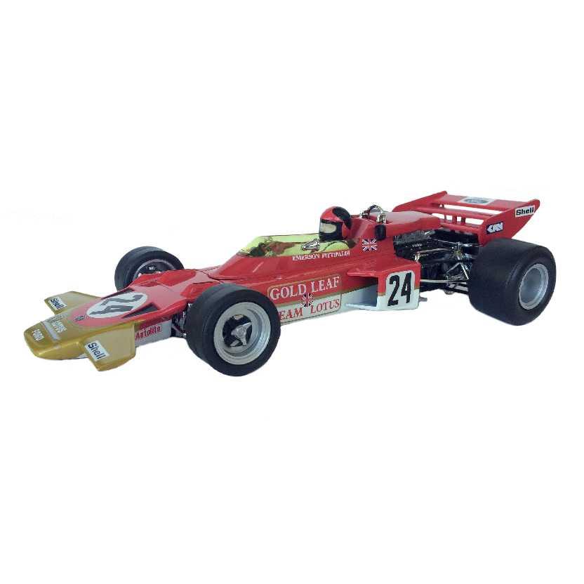 Fórmula 1 Team Lotus 72C Emerson Fittipaldi 1st 1970 US GP Sunstar escala 1/18