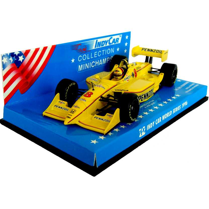 Fórmula Indy Hall Racing Reynard Honda (1996) Gil de Ferran - Minichamps escala 1/43