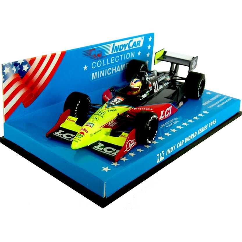 Fórmula Indy Tasman Motorsport Reynard Honda (1995) André Ribeiro - Minichamps escala 1/43
