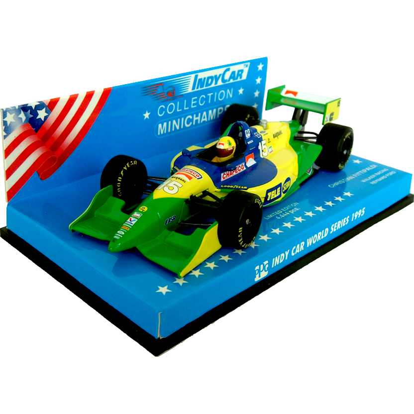 Fórmula Indy Walker Racing Reynard Ford (1995) Christian Fittipaldi - Minichamps escala 1/43