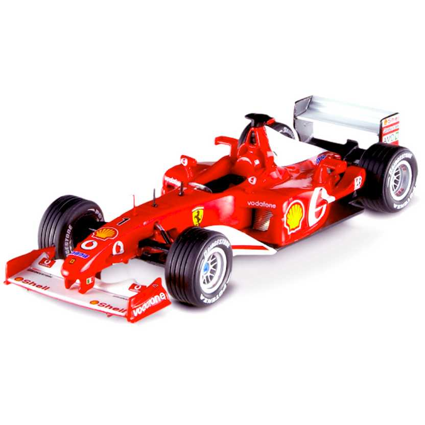F-1 Ferrari F2002 Michael Schumacher (2002) Hot Wheels Elite escala 1/43 N5603