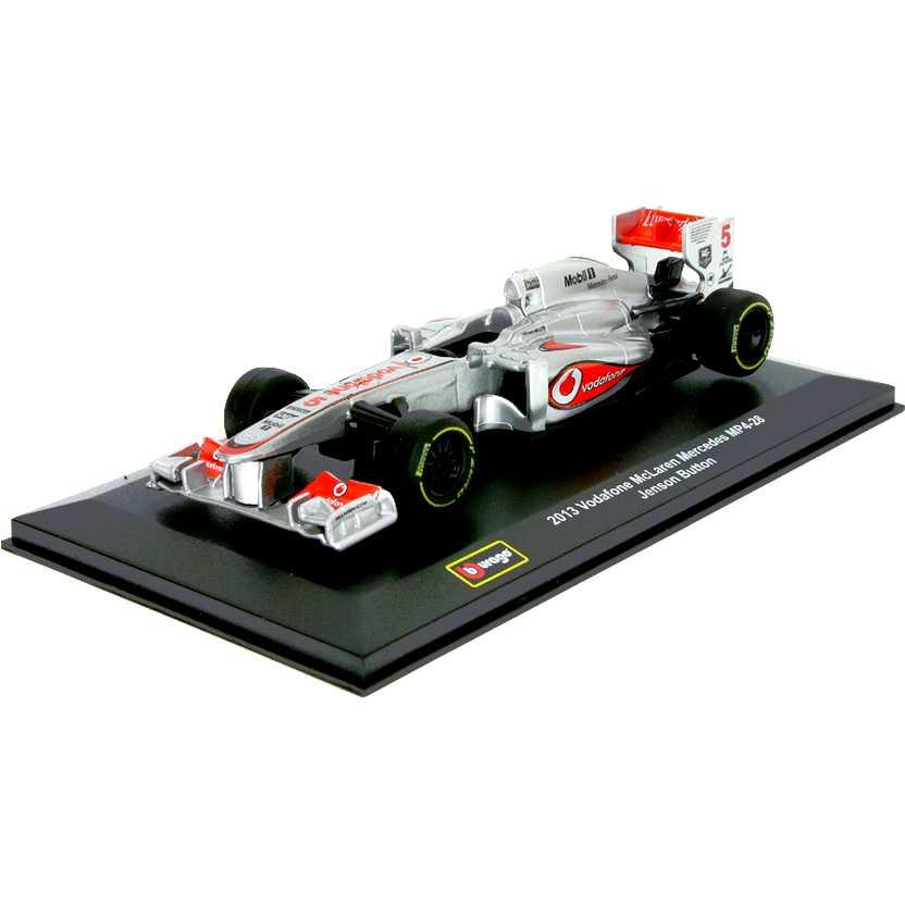 F1 McLaren Mercedes MP 4-28 (2013) Jenson Button Fórmula 1 marca Bburago escala 1/32