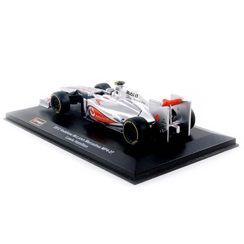 F1 McLaren MP4/27 (2012) #4 Lewis Hamilton Bburago escala 1/32