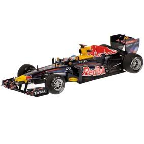 F1 Red Bull RB7 Renault Sebastian Vettel Campeão Mundial (2011) escala 1/43