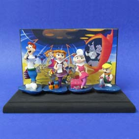 Família Jetsons (diorama)