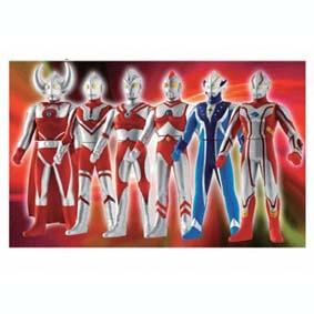 Família Ultra Cosmo (6 bonecos)