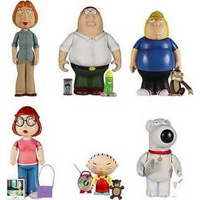 Family Guy mini boxed set (7 figuras)