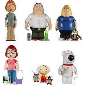 Family Guy mini boxed set (7 figuras)