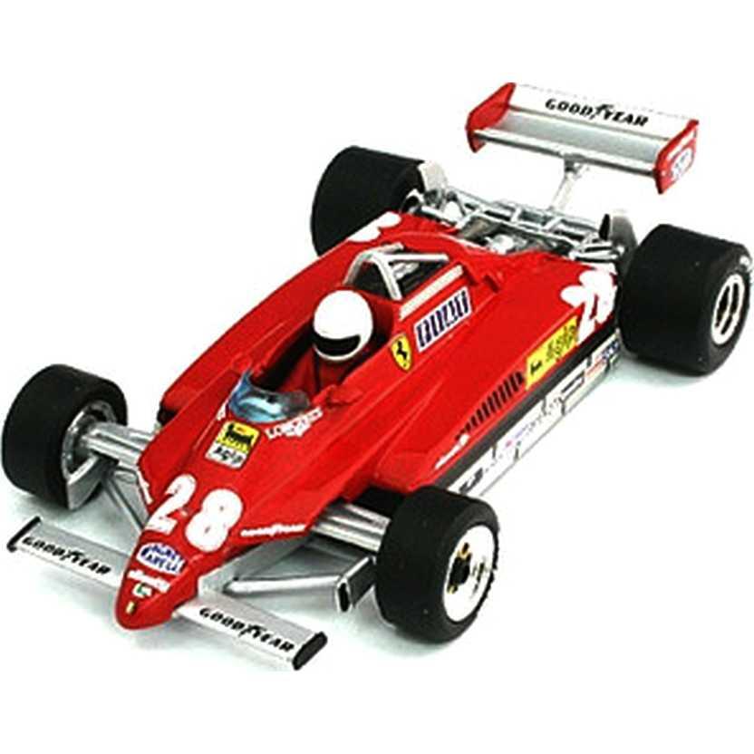 Ferrari 126 C2 Turbo (1982) Didier Pironi - San Marino GP - Hot Wheels escala 1/43