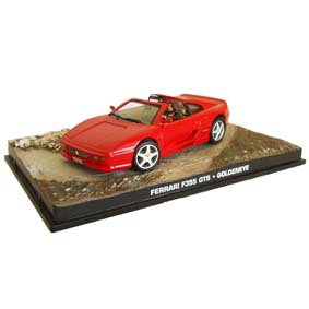 Ferrari 355 GTS escala 1/43 James Bond 007 Goldeneye