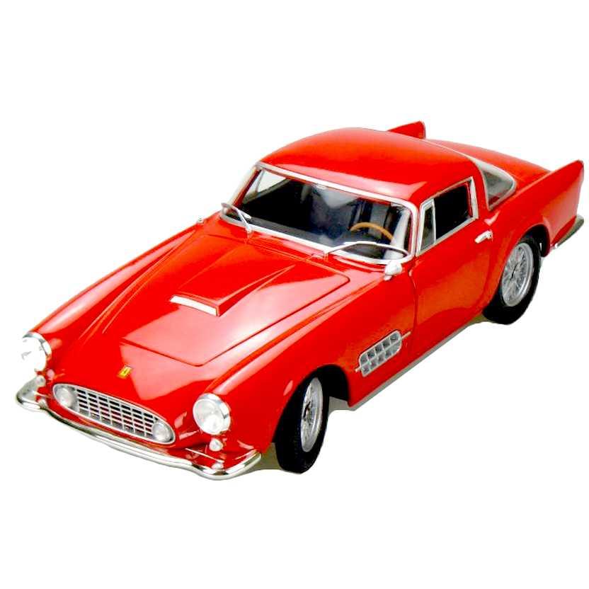 Ferrari 410 Superamerica (1956) vermelho escala 1/18 da Hot Wheels T6244