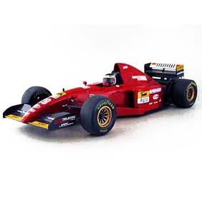 Ferrari 412T2 F1 V12 Gerard Berger número 28 (1995) Raridade na caixa