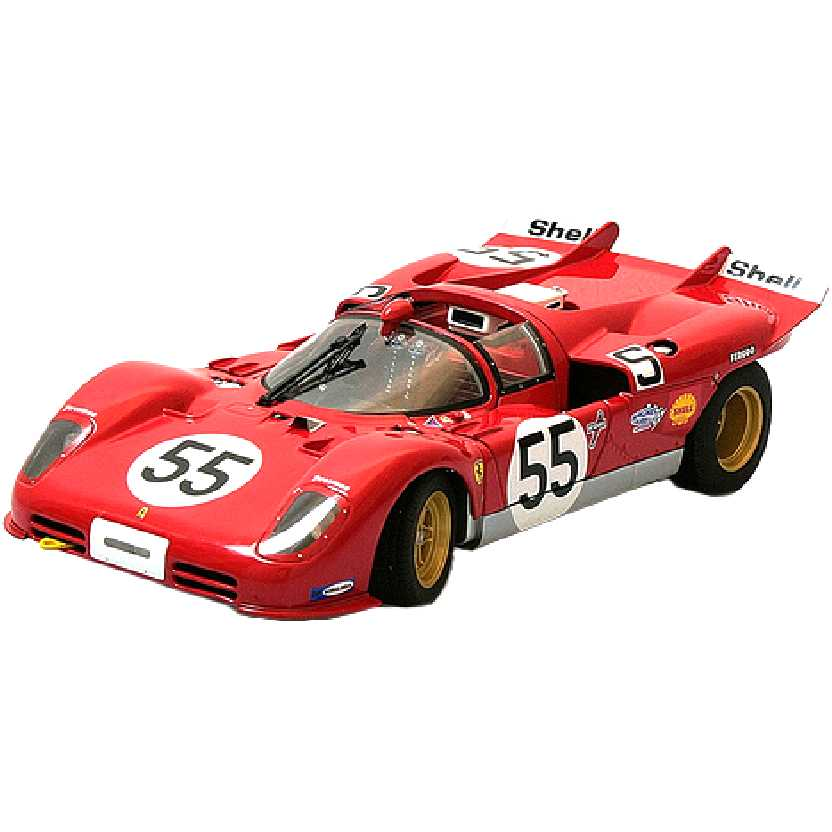 Ferrari 512S 1000 km Nürburgring (1970) marca Hot Wheels Elite escala 1/18 T6259