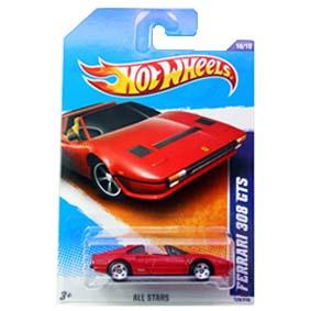 Ferrari do Magnum Seriado da TV (Hot Wheels Ferrari 308 GTS) R7553 128/240