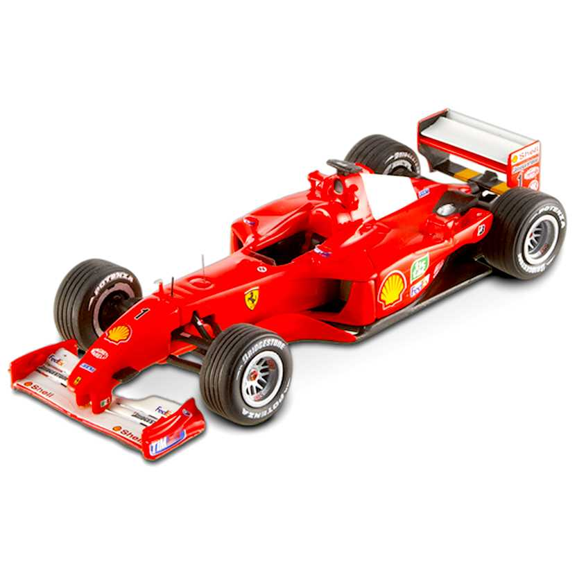 Ferrari F1-2001 Michael Schumacher (2001) Hot Wheels Elite escala 1/43 V8374
