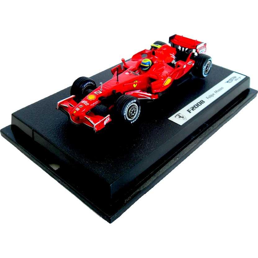 Ferrari F2008 Felipe Massa (2008) Hot Wheels escala 1/43 M0556