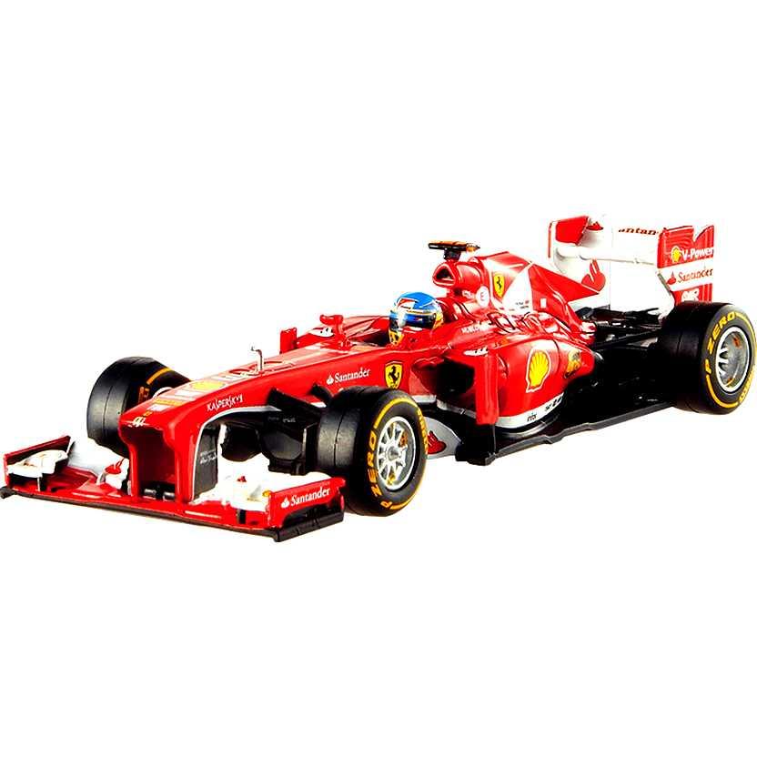 Ferrari F2013 F138 Fernando Alonso (2013) Hot Wheels escala 1/43 BCK16