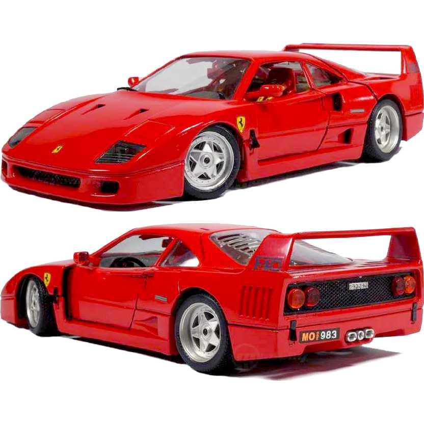 Ferrari F40 (1987) marca Bburago escala 1/18