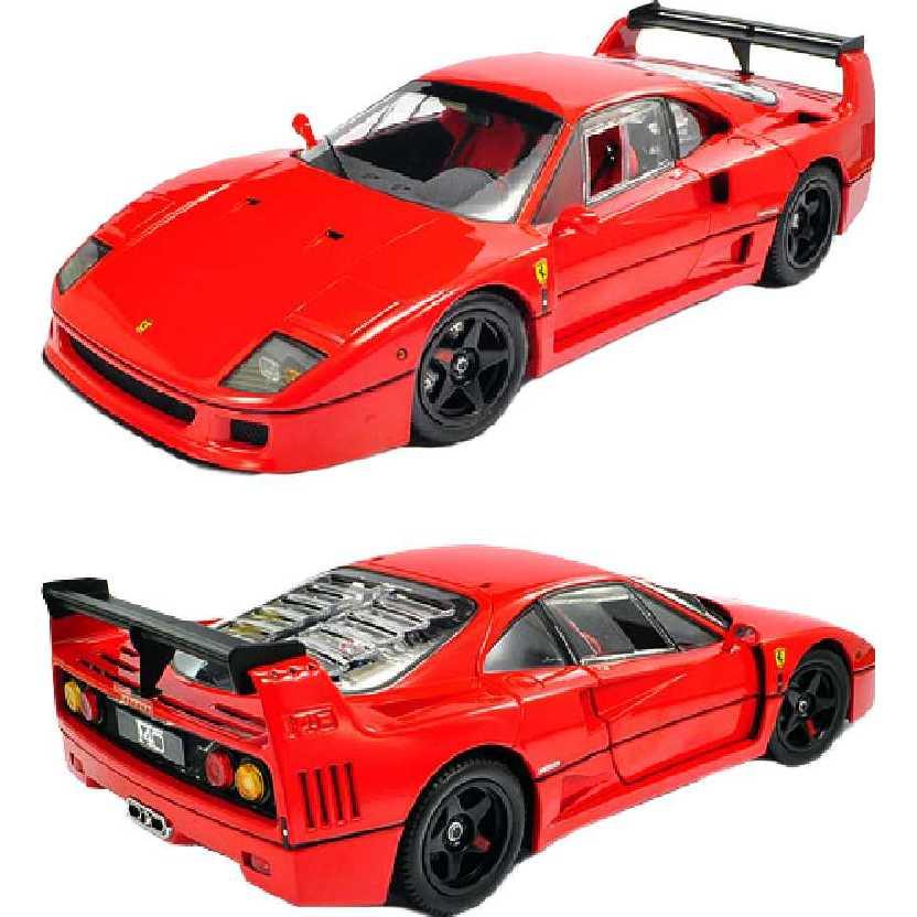 Ferrari F40 Light Wheight LM Wing (vermelha) Kyosho escala 1/18 RARO 08415R