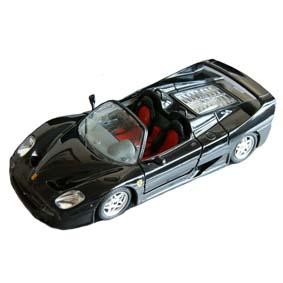 Ferrari F50 (1995) Miniatura Burago escala 1/24 RARO