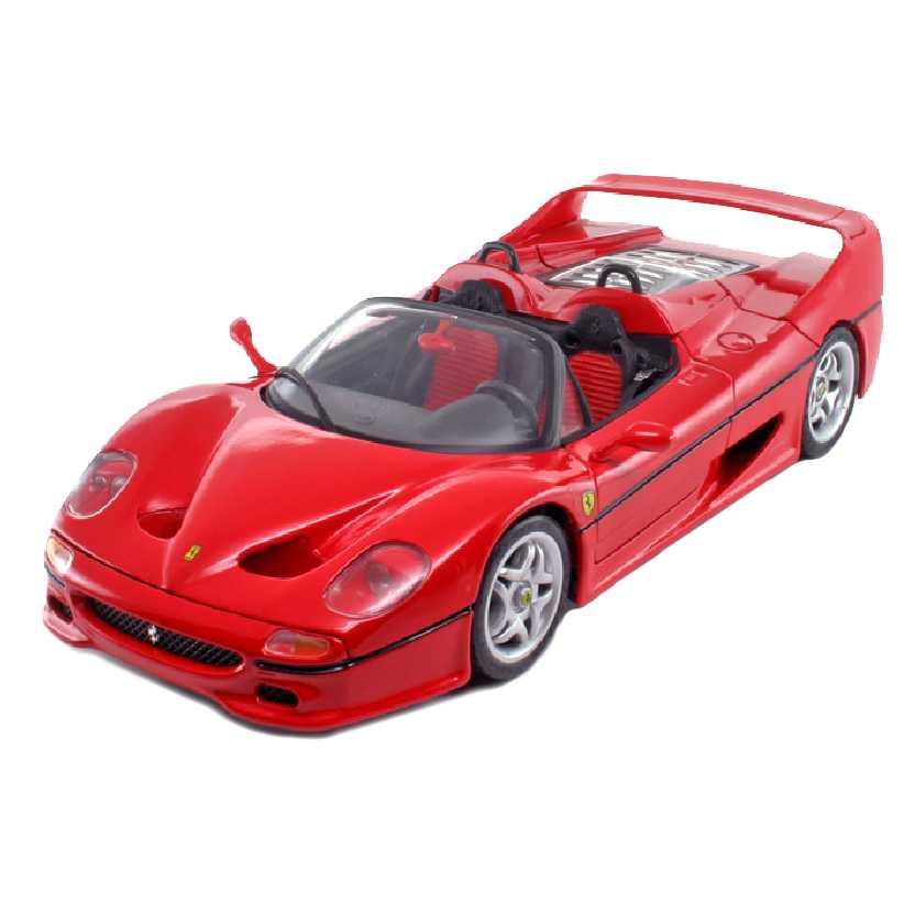 99cefa4c8e Ferrari F50 (1995) vermelha marca Maisto escala 1 18 - Arte em ...