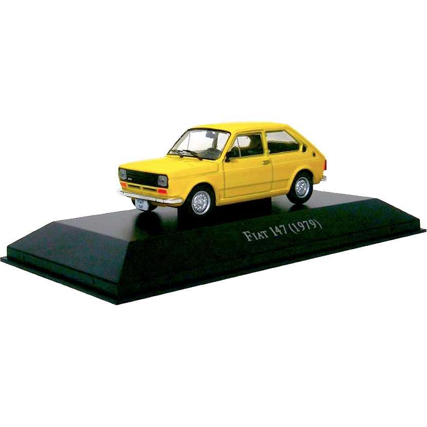 Fiat 147 1979 Coleção Carros Inesquecíveis Do Brasil escala 1/43