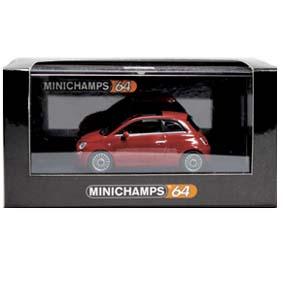 Fiat 500 Cinquecento ( 2007 ) Minichamps escala 1/64 640121700