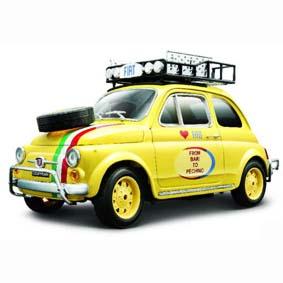 FIAT 500 From Bari to Pechino