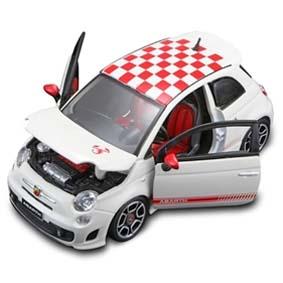 Fiat Abarth 500 (2008) Fiat 500 Abarth branco