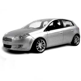 Fiat Bravo 2013 prata marca Norev escala 1/43