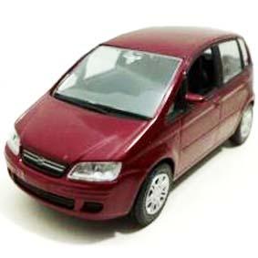 Fiat Idea (vermelho metálico)