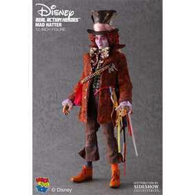 Figura de Ação Chapeleiro Maluco (Johnny Depp) Mad Hatter Medicom Toy Action Figures