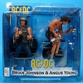 Figuras de Ação Compre na Loja Virtual Boneco AC/DC Angus Young e  Brian Johnson