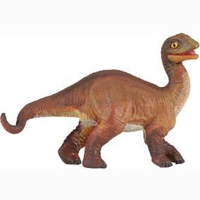 Filhote de Dino Apatosaurus pintado a mão