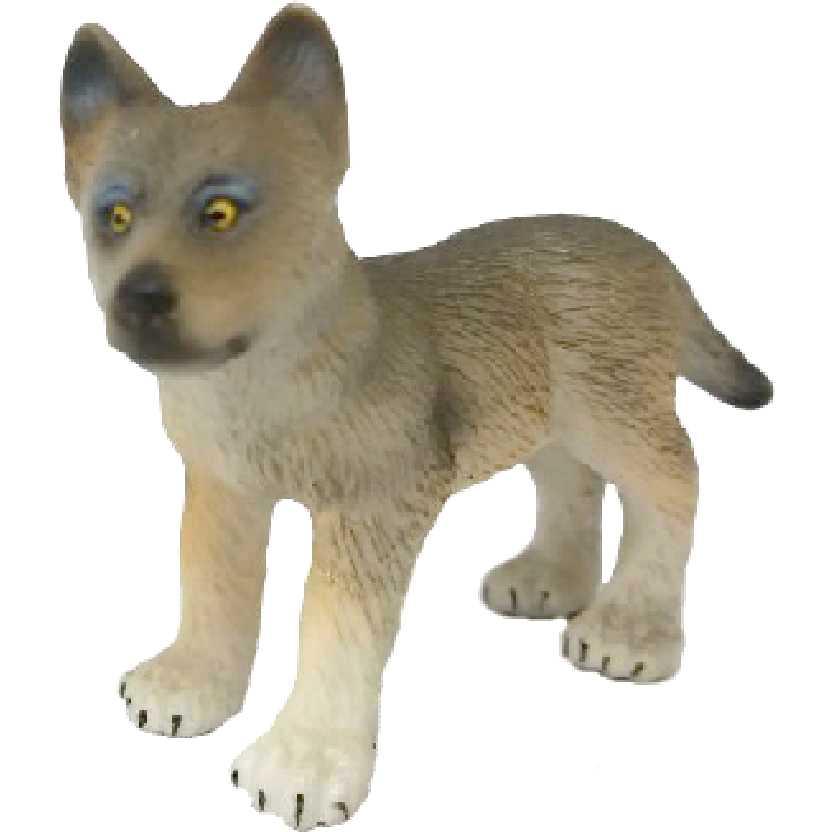 Filhote de lobo Schleich 14606 Wolf Cub figure
