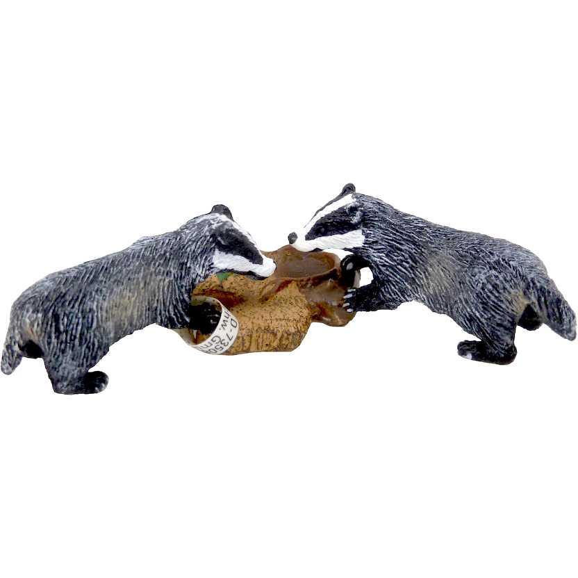 Filhotes de Texugo marca Schleich - 14651 Badger Cub
