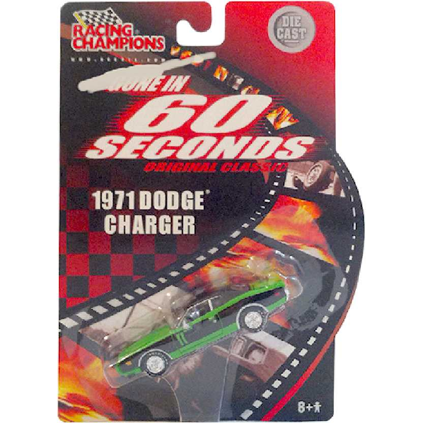Filme 60 segundos / Gone in 60 Seconds 1971 Dodge Charger Racing Champions escala 1/64