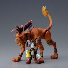 Final Fantasy 7 Play Arts - Red XIII and Cait Sith
