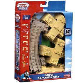 Fisher Price Thomas e seus Amigos Brinquedos linha Trackmaster ponte 12 peças