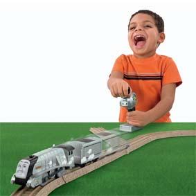 Fisher Price Thomas e seus Amigos Trackmaster Brinquedos ::  Spencer Controle Remoto