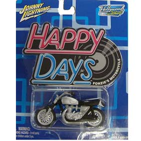Fonzies motorcycle (Happy Days)