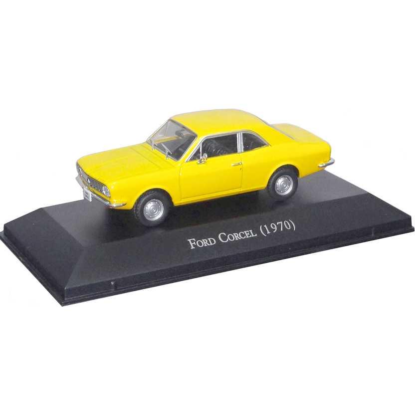 Ford Corcel 1970 Coleção Carros Inesquecíveis Do Brasil escala 1/43