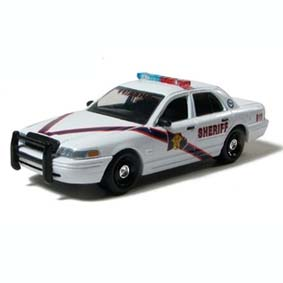 Ford Crown Victoria Montgomery County, TX Sheriff (Greenlight Hot Pursuit) Police