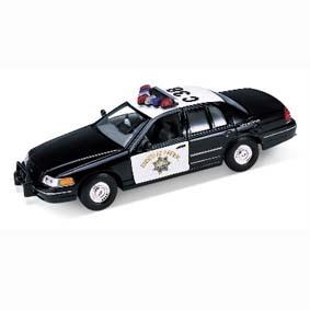 Ford Crown Victoria Police - Policia da Welly escala 1/24