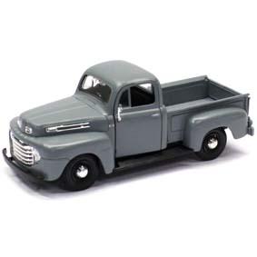 Ford F-1 Pickup (1948) cor cinza marca Maisto escala 1/24