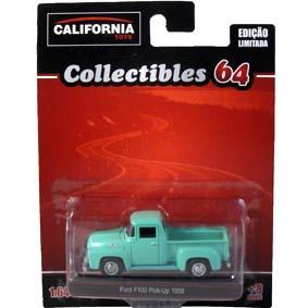 Ford F-100 Pickup (1958) Greenlight California Toys Collectibles escala 1/64