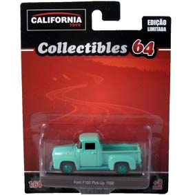 Ford F100 Pick-Up (1958) Greenlight Green Machine California Toys Collectibles 1/64
