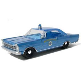 Ford Galaxie Hot Pursuit (1965) Westwood Police Greenlight 1/64 R5 42620