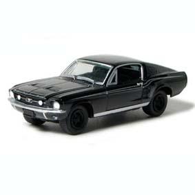 Ford Mustang Fastback (1967) Black Bandit Greenlight 1/64 R3 27630