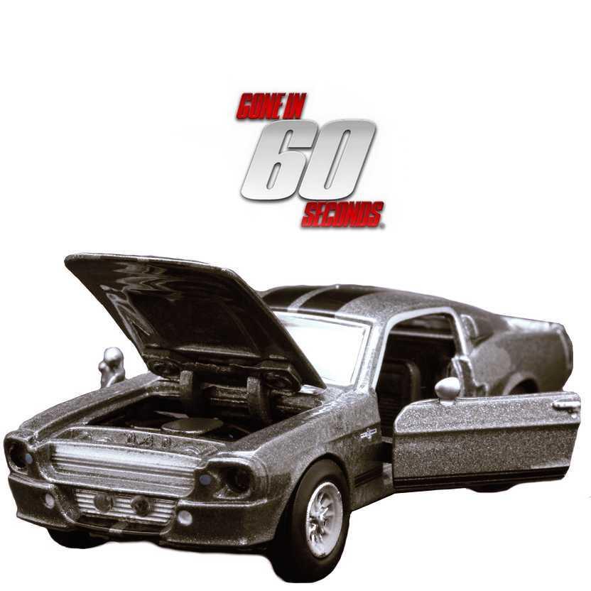 Ford Mustang Shelby GT-500E 1967 (Eleanor) filme 60 segundos - Gone in 60 seconds escala 1/64